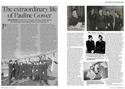 The Extraordinary Life of Pauline Gower, The Armourer Magazine, March 2018