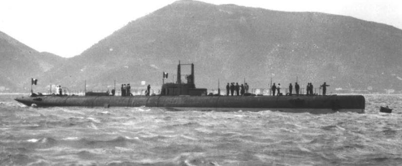 Italian Submarine Alberto Gugliemotti