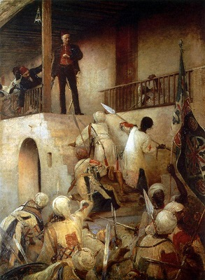 The Death of General Gordon at Khartoum