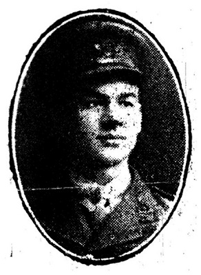 Second-Lieutenant Howard Burton
